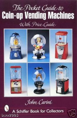 Pocket Guide to Coin-Op Vending Machines New Book Hobbies Crafts