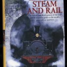 Trains RailRoad Book of Steam And Rail Locomotive NEW Railroadiana Photographs