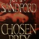 Chosen Prey by John Sandford HB DJ Sexual Murder Gothic Murder Mystery