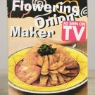 Flowering Onion Bloomin Blooming Onion Tool Holiday Cooking Gourmet NIB