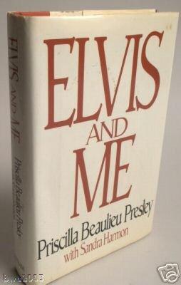 Elvis and Me by Priscilla Beaulieu Presley Vintage Book