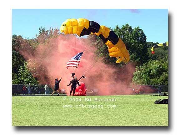 "Army Ranger Parchute Military Art Photo Print Decor ""Terra Firma"" Ed Burgess"