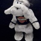 Harley Davidson Motorcycle Harley Hound Stuffed Plush Doll w Black tee