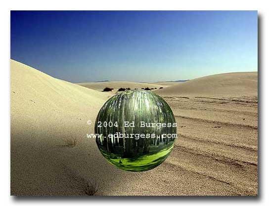 """""""Yin Yang """" Yin Yang Fantasy Landscape Fine Art Photo Print"""