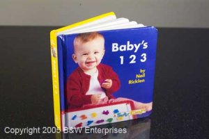 Baby's 1 2 3 First Preschool Baby Counting Number Book Home School