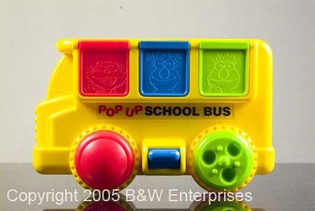 Sesame St School Bus Activity Toy - Jim Henson Muppets