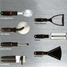 Kitchen Tool set 7 piece by OXO SoftGrip Handles Ice Cream Scoop Can Opener Grater NIB