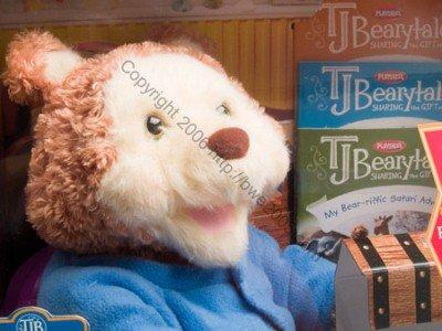 T.J. Bearytales Interactive Bear 3 books 2 cartridges Camera NIB (1 Left in stock) CLEARANCE SALE