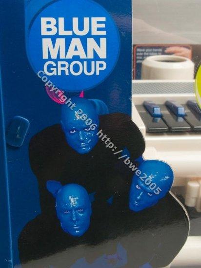 Blue Man Keyboard Experience + Bonus DVD Sound Machine Sound Tube Recording MP3 Ipod NIB