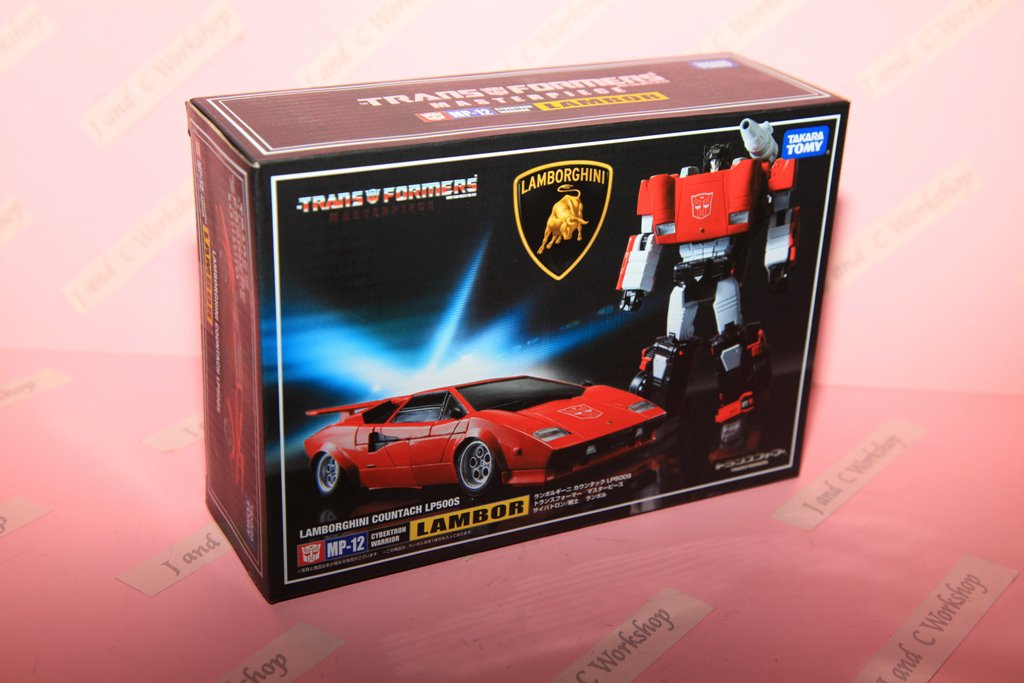 Transformers MP 12 Lambor LP500S Takara Tomy Japan Version