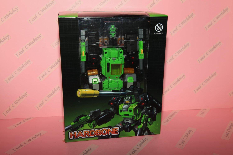 Transformers Toyworld TW TW-H01 Hardhead Hardbone Headmaster G1 MP H01 1  lot