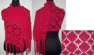 crochet shawl,free shipping