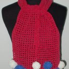 hand crochet scarf,free shipping
