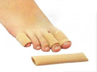 Toe Pain Gel Toe Finger Protectors Foot Corn Sore Toe Blisters Finger protection Sz S