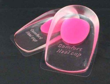 Ladies Comfort Gel Heel Cups Shoe Inserts Insoles Foot  Care Pain Running