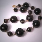 Smokey Quartz Pearl Choker Necklace by J. Wass Designer Jewelry