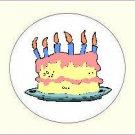 Round Birthday Envelope Seals - Choose Your Graphic & Size