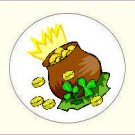 Round St Patrick's Day Envelope Seals - Choose Your Graphic & Size