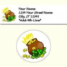 "60 St Patrick's Day Address Labels & 63 - 1"" Envelope Seals - Choose Your Graphic"