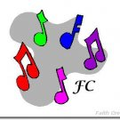 Music Note Cards with YOUR Initials - Choose Your Graphic