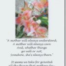 #M4U0544 Happy Birthday Greeting Card for Mother Mom