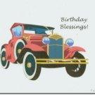#M4U0523 Christian Happy Birthday Greeting Card