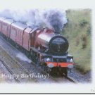 #M4U0540 Happy Birthday Greeting Card