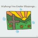 #M4U0504 Happy Easter Greeting Card