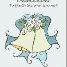 #M4U0190 Congrats Congruatulations to the Bride & Groom Wedding
