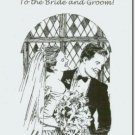 #M4U0198 Congrats Congruatulations to the Bride & Groom Wedding