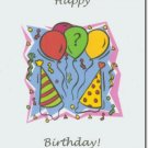 #M4U0224 Happy Birthday Greeting Card to a Child