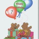 #M4U0225 Happy Birthday Greeting Card to a Child
