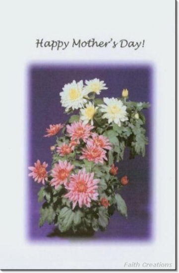 #M4U0118 Happy Mother's Day Greeting Card