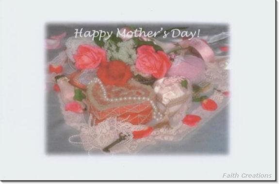 #M4U0119 Happy Mother's Day Greeting Card