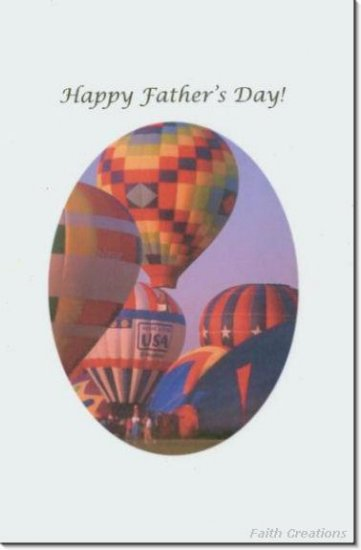#MU0171 Happy Father's Day Greeting Card