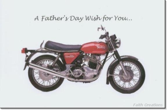 #MU0528 Happy Father's Day Greeting Card
