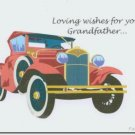 #MU0529 Happy Father's Day Greeting Card to Grandfather