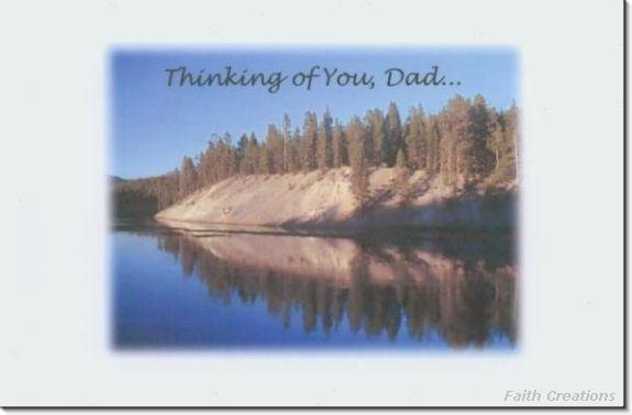 #MU0532 Happy Father's Day Greeting Card
