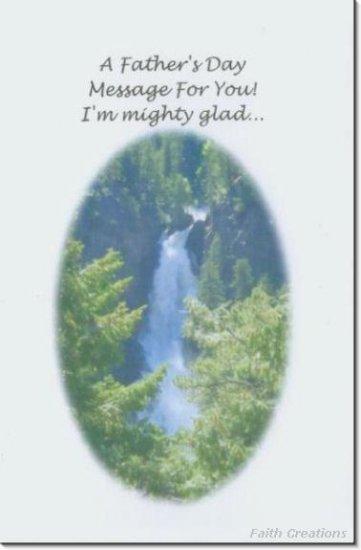 #MU0534 Happy Father's Day Greeting Card