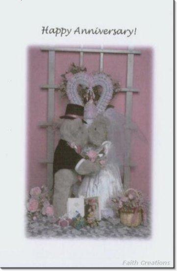 #M4U0296 Happy Anniversary Greeting Card