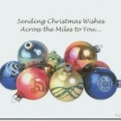 #M4U0384 Merry Christmas Across the Miles Greeting Card