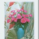 #M4U0243 Floral Bouquet Thank You Greeting Card
