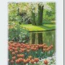 #M4U0245 Flower Garden Thank You Greeting Card