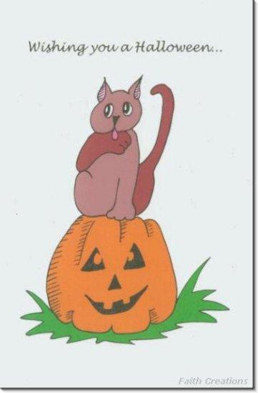 #M4U0363 Happy Halloween Greeting Card