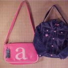 LOT OF 2 CUTE GIRLS HANDBAG PURSE