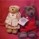 LOT OF 2 RETIRED BOYDS BEARS MINT CONDITION