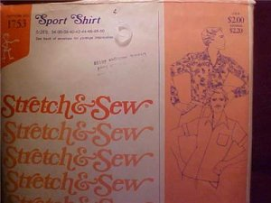 ANN PERSON SEWING PATTERN SPORT SHIRT UNCUT