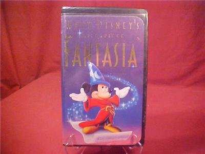 WALT DISNEY MASTER PIECE FANTASIA VHS VIDEO
