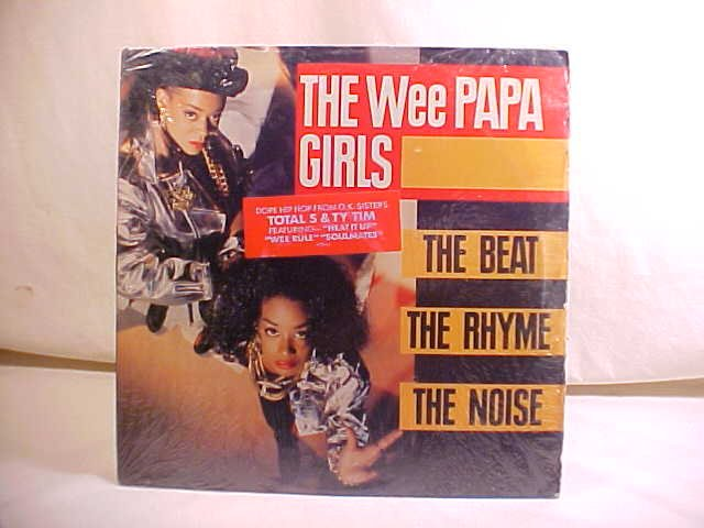 1989 THE WEE PAPA GIRLS LP RECORD ALBUM HIP HOP