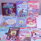 LOT OF 9 SCHOLASTIC BOOKS NICK CARTOON NETWORK
